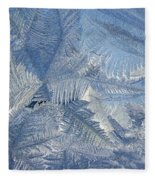 Ice Crystals Fleece Blanket