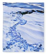 Ice Cube Creek Fleece Blanket
