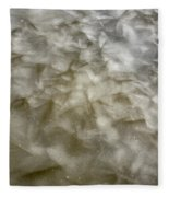 Ice Formations During The Winter Months Fleece Blanket