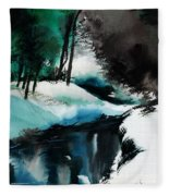 Ice Land Fleece Blanket