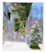 Ice Melt Fleece Blanket