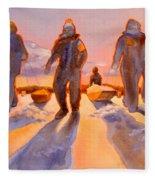 Ice Men Come Home Fleece Blanket