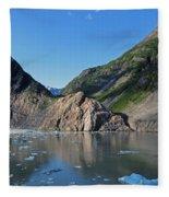 Ice On The Water Fleece Blanket