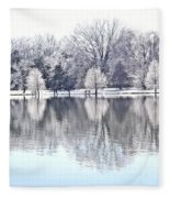 Ice Park Fleece Blanket