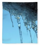 Ice Photo 2 Fleece Blanket