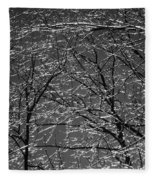 Ice Rain Fleece Blanket