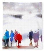 Ice Space Fleece Blanket