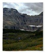 Iceberg Lake Trail Fleece Blanket
