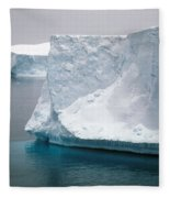Icebergs In The Weddell Sea Antarctica Fleece Blanket