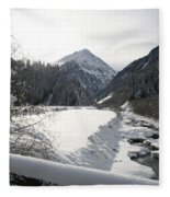 Iced River Fleece Blanket