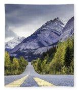 Icefield Parkway Fleece Blanket