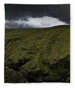Iceland 1 Fleece Blanket