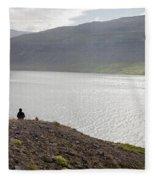 Iceland 12 Fleece Blanket