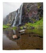 Iceland 15 Fleece Blanket