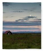 Iceland 26 Fleece Blanket