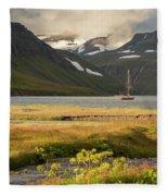 Iceland 33 Fleece Blanket