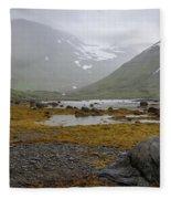 Iceland 36 Fleece Blanket