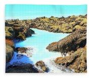 Iceland Blue Lagoon Healing Waters Fleece Blanket