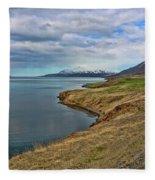 Iceland Landscape # 8 Fleece Blanket