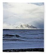 Iceland Lava Field Mountains Clouds Iceland Lava Field Mountains Clouds Iceland 2 282018 1837.jpg Fleece Blanket