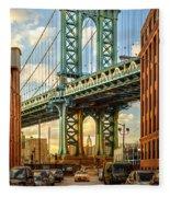 Iconic Manhattan Fleece Blanket