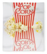 Iconic Striped Popcorn Carton Fleece Blanket