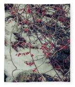 Icy Berries Fleece Blanket