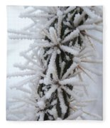 Icy Cactus Fleece Blanket