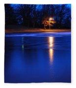Icy Glow Fleece Blanket