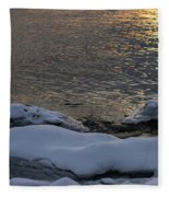Icy Islands - Fleece Blanket