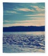 Icy River Fleece Blanket
