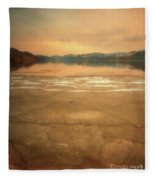 Icy Sunset Fleece Blanket