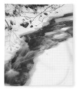 Icy Swath Fleece Blanket