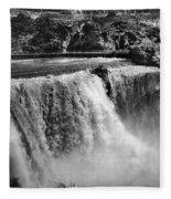 Idaho: Bridal Veil Falls Fleece Blanket