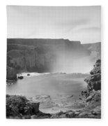 Idaho: Snake River Canyon Fleece Blanket