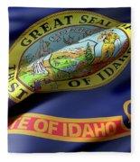 Idaho State Flag Fleece Blanket