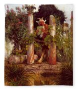 Idyll Pan Amidst Columns 1875 Fleece Blanket