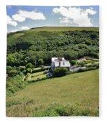 Idyllic North Cornwall Fleece Blanket