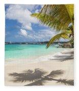 Idyllic Salomon Beach Fleece Blanket