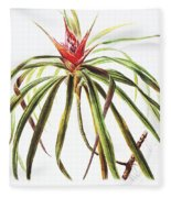 Ieie Plant Art Fleece Blanket