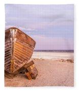 If I Had A Boat Fleece Blanket
