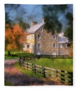 If These Walls Could Talk  Fleece Blanket