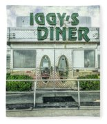 Iggy's Diner Fleece Blanket
