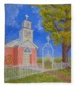 Iglesia De San Antonio Fleece Blanket