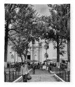 Iglesia La Merced - Antigua Guatemala Bnw Ix Fleece Blanket