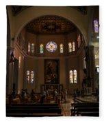 Iglesia Maria Auxiliadora - San Salvador Xix Fleece Blanket