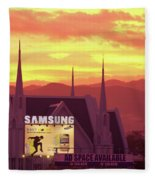 Iglesia Ni Cristo Sunset Cebu City Philippines Fleece Blanket