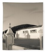 Iglesia San Andres Apostol - Apaneca 17 Fleece Blanket