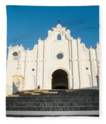 Iglesia San Andres Apostol - Apaneca 2 Fleece Blanket