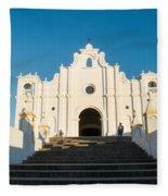 Iglesia San Andres Apostol - Apaneca 4 Fleece Blanket